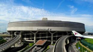 Aeropuerto Charles de Gaulle, en París.