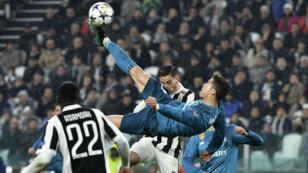 Cristiano Ronaldo, auteur d'un but de légende sur la pelouse de la Juventus Turin