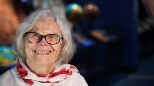 Sue Finley, 82 ans, au Jet Propulsion Laboratory à Pasadena (Californie), le 11 juillet 2019