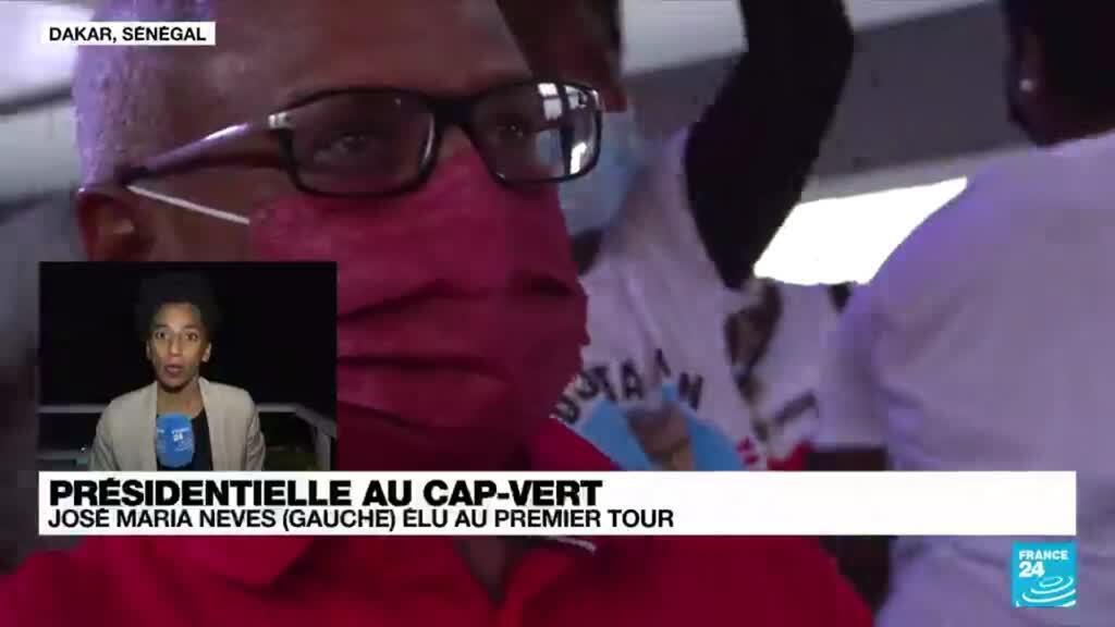 2021-10-18 09:08 Cap-Vert : le candidat de la gauche José Maria Neves élu dès le 1er tour