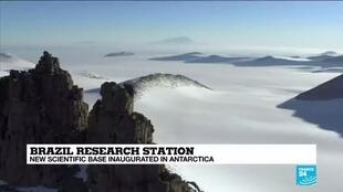 2020-01-16 12:12 Brazil has opened a new research base in Antarctica