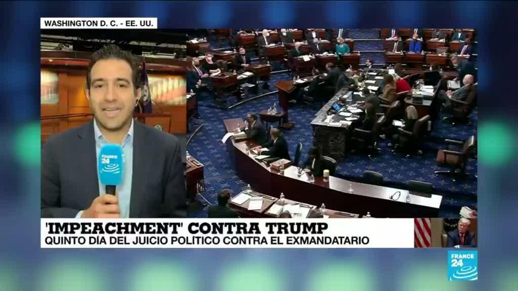 2021-02-13 19:03 Informe desde Washington: juicio político contra Trump continúa sin testigos