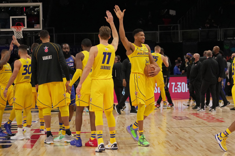 NBA All-star game Giannis Antetokounmpo