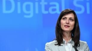 """EU Digital Economy Commissioner Mariya Gabriel said the commitment was """"a step in the right direction"""""""