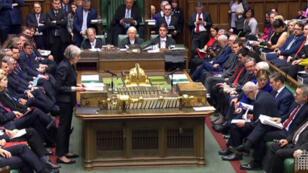 La Première ministre Theresa May doit encore convaincre le Parlement britannique de soutenir l'accord sur le Brexit.