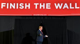Le président américain Donald Trump lors d'un meeting à El Paso, au Texas, le 11 février 2019.