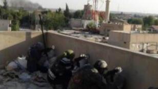 Combattantes kurdes le 16 juillet à Ras el-Aïn, en Syrie