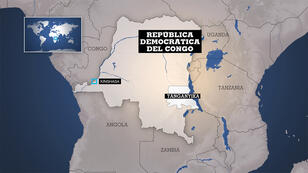 El accidente se produjo en la localidad de Maryibaridi, en la provincia suroriental de Tanganyika, en la República Democrática del Congo.