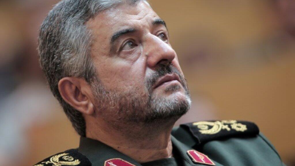 قائد الحرس الثوري الإيراني الجنرال محمد علي جعفري