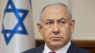 رئيس الوزراء الإسرائيلي بنيامين نتانياهو.