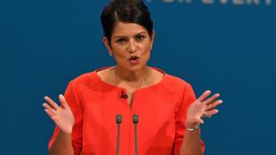 La ministre du Développement international britannique Priti Patel risque de perdre son poste.