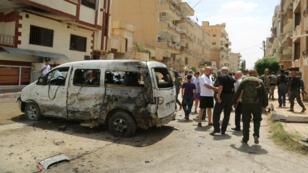 Trois membres de la force policière Sotoro ont été tués dimanche 19 juin, dans le nord-est de la Syrie, lors d'une commémoration du massacre des Assyriens.