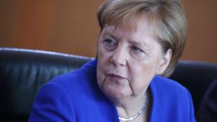 La chancelière allemande Angela Merkel s'est entretenue avec Boris Johnson par téléphone à propos du Brexit.