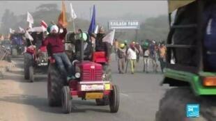 2021-01-26 17:13 Manifestation en Inde : pourquoi les fermiers indiens sont ils en colère ?