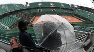 Aucun match ne se jouera le lundi 30 mai à Roland-Garros.