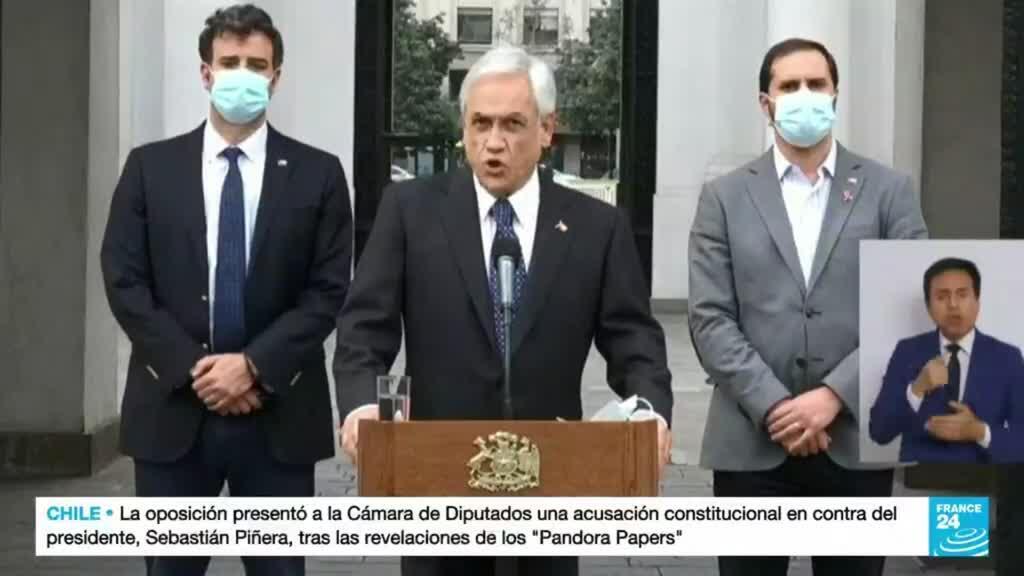 2021-10-13 22:01 Los 'Pandora Papers' reabren el debate sobre la permanencia Piñera en la presidencia chilena