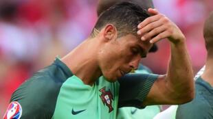 Cristiano Ronaldo, superstar de cet Euro-2016, pourrait quitter la compétition dès les quarts.