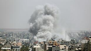 Les raids israéliens sur Gaza se poursuivent dimanche 5 mai 2019.