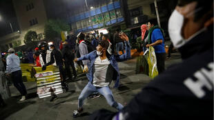 Bolivia--ELECTION-PROTESTS