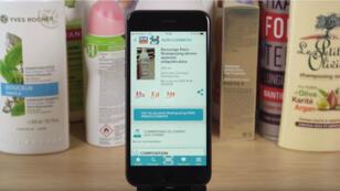 L'appli QuelCosmetic permet de vérifier si un produit contient des ingrédients indésirables.