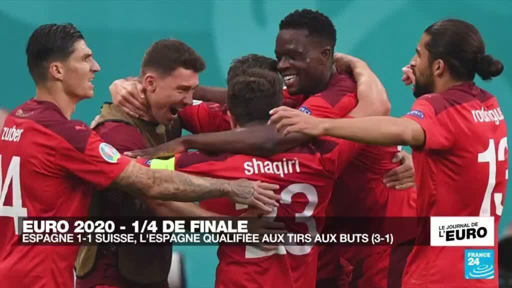 2021-07-02 23:51 Euro 2021 : l'Espagne vient à bout d'une Suisse héroïque et se hisse en demi-finales