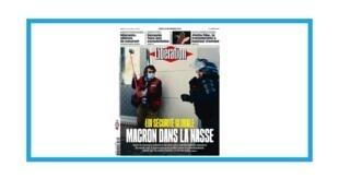 """Manifestations en France contre le projet de loi de """"sécurité globale"""""""