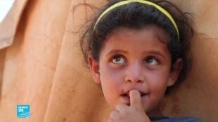 مخيم أطمة للنازحين في شمال سوريا.