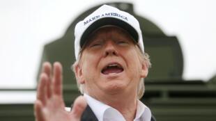Le président des Etats-Unis s'est rendu à McAllen, au Texas, afin de démontrer le bien-fondé de son mur.