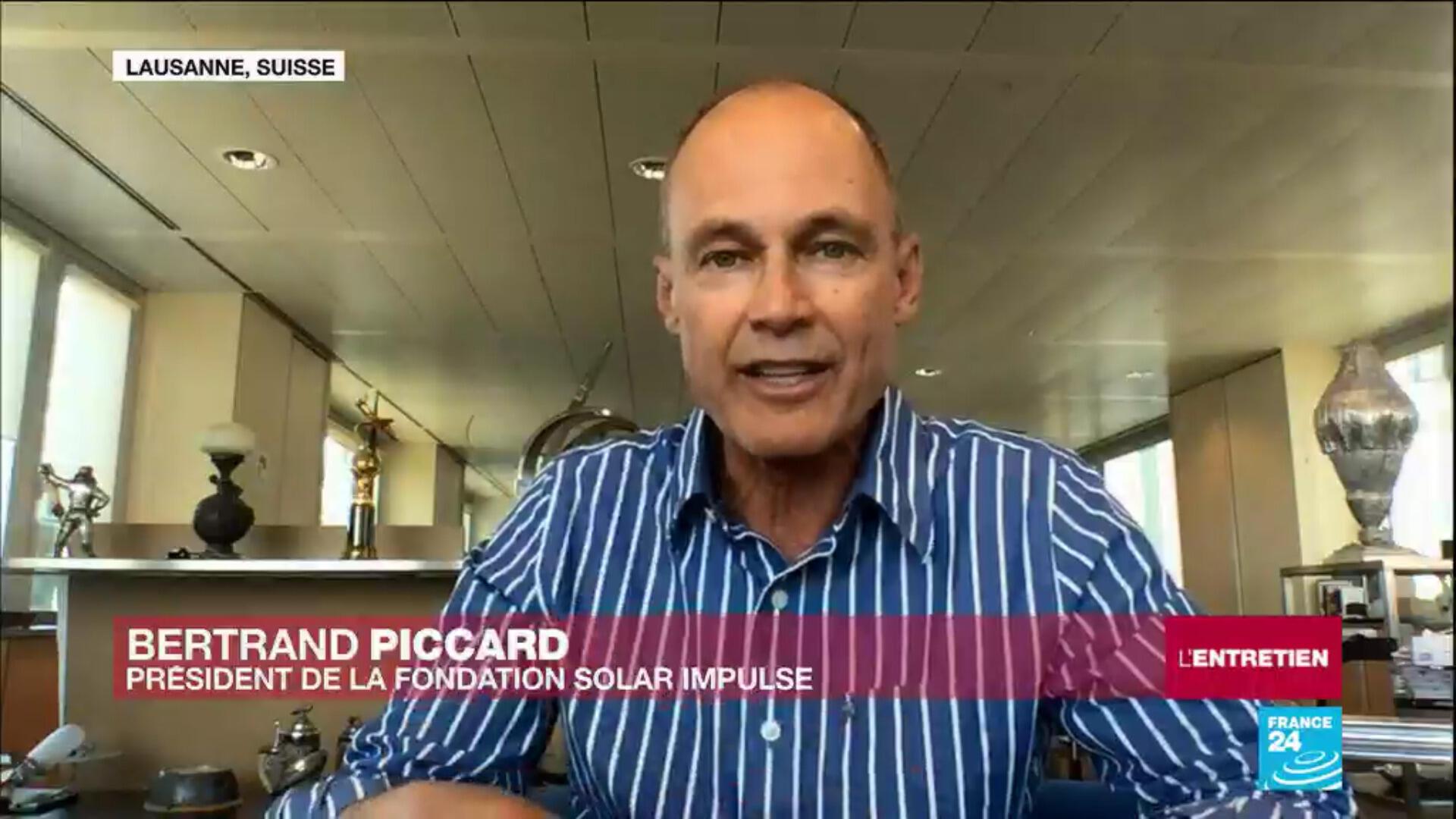 Bertrand Piccard, fondateur et président de la Fondation Solar Impulse