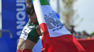 La mexicana Madai Pérez gana la competencia de maratón femenino. 3/8/18