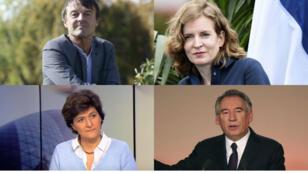 Nicolas Hulot, Nathalie Kosciusko-Morizet, Sylvie Goulard et François Bayrou sont pressentis dans le nouveau gouvernement français.