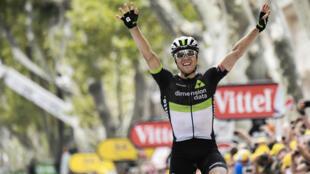Le Norvégien Edvald Boasson Hagen a remporté la 19e étape du Tour de France, le 21 juillet 2017.