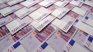 Les autorités italiennes s'inquiètent de l'inflation de versements de billets de 500 euros sur des comptes en banque.