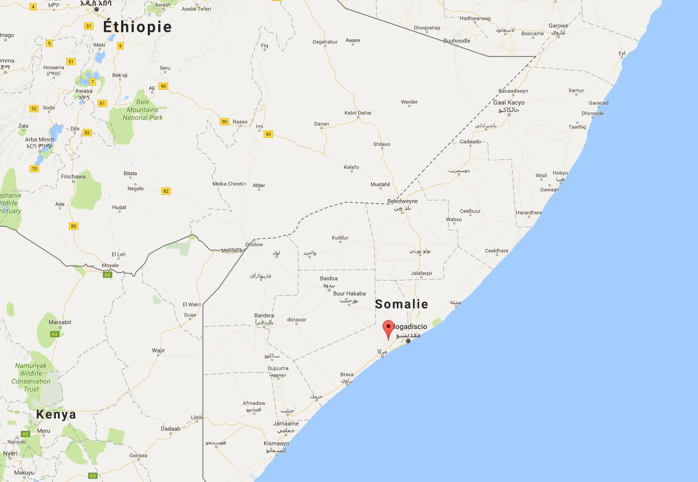 Barii est situé à 60 kilomètres à l'ouest de Mogadiscio.