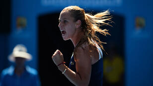 Dominika Cibulkova qualifiée pour la finale de l'Open d'Australie.