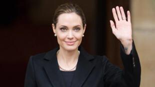 Angelina Jolie au festival de Cannes 2012