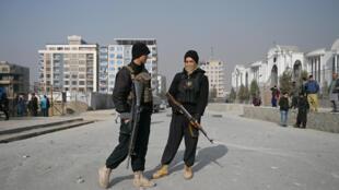 صورة مؤرخة في 2 شباط/فبراير 2021 لأحد شوارع كابول