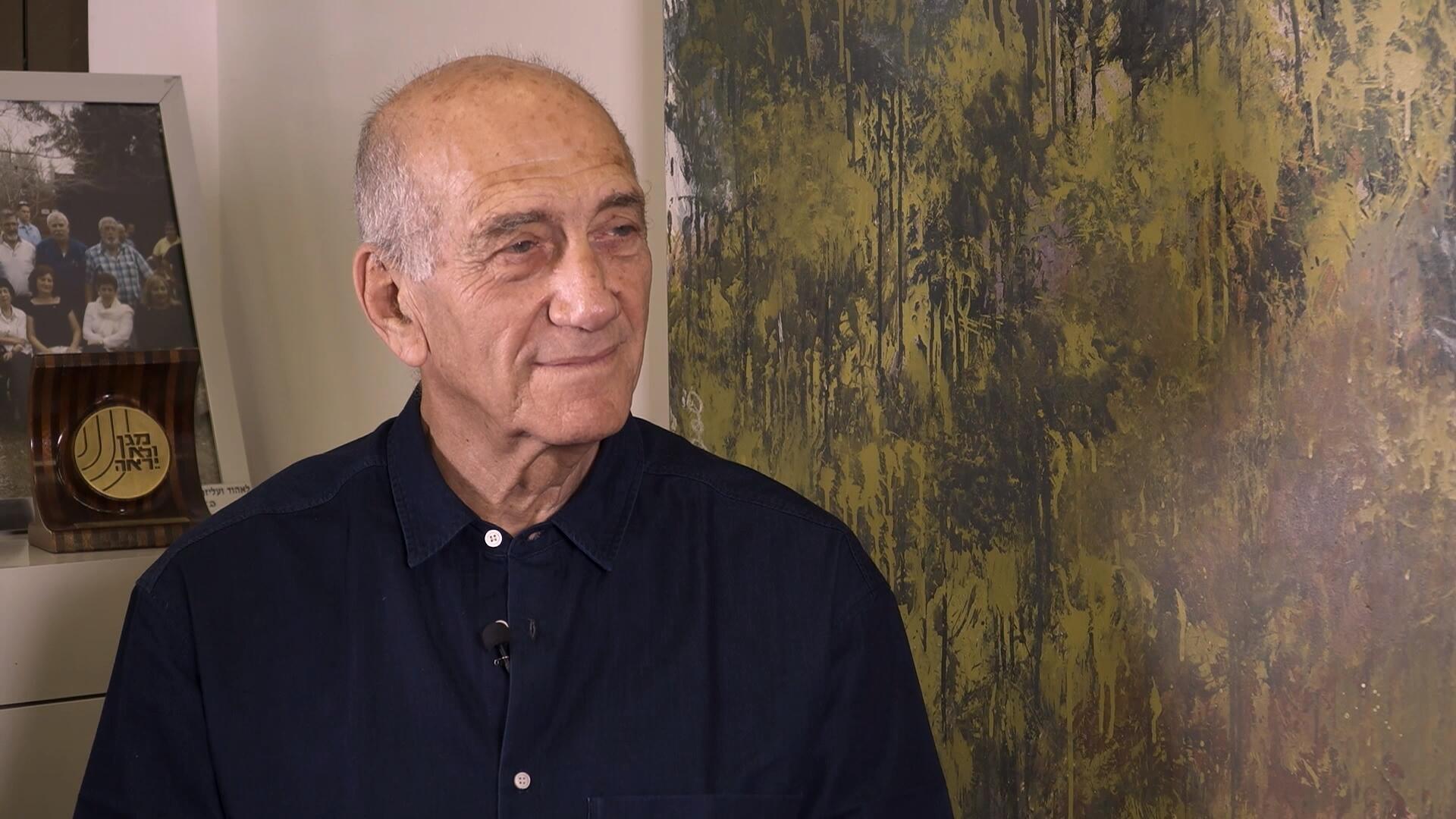 Ehud Olmert, ancien Premier ministre israélien