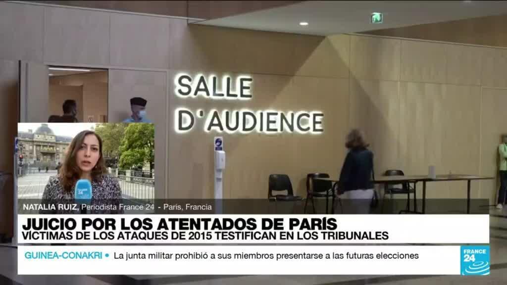 2021-09-28 19:34 Informe desde París: así fueron los primeros testimonios de quienes sufrieron los ataques de 2015