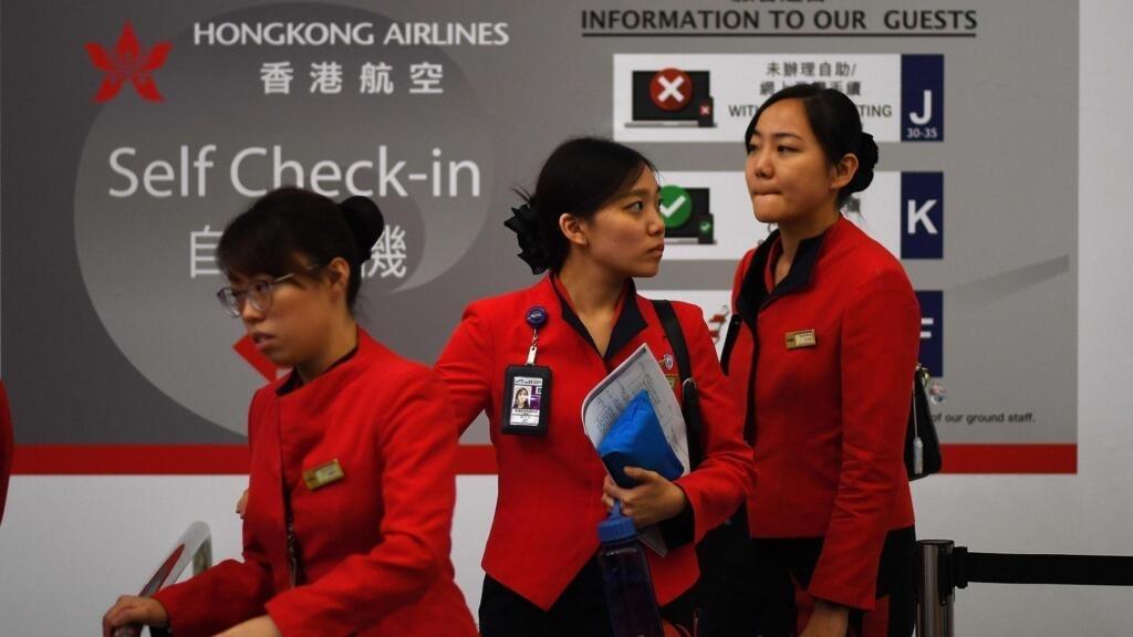 L'aéroport de HongKong a rouvert, le trafic aérien encore perturbé