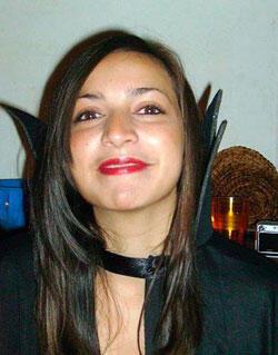 Meredith Kercher, à Pérouse, en 2007