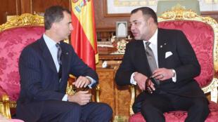 Mohammed VI et Felipe VI à Rabat en juillet dernier.