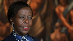 Louise Mushikiwabo le 25 septembre 2018 à New York.