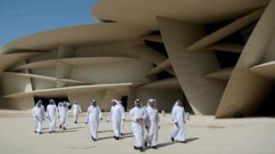 """La """"rose des sables"""" de Jean Nouvel a été inaugurée, le 27mars2019, à Doha."""