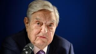 """Hungarian-born US investor and philanthropist George Soros told a dinner audience at Davos World Economic Forum that China's wealth and strenght makes President Xi Jinping """"the most dangerous opponent of open societies"""""""