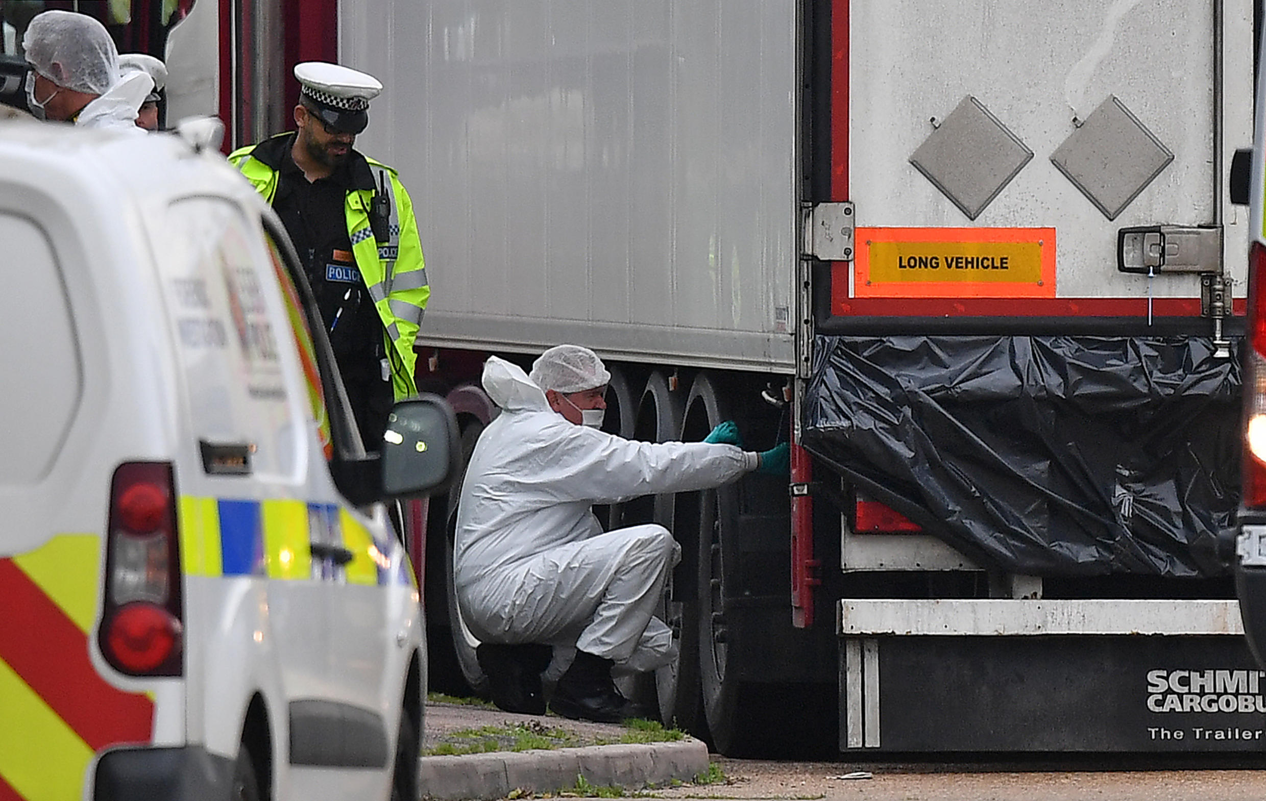 A total of eight people have been convicted in connection with the discovery of Vietnamese migrants in the back of a lorry in England