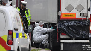 The grim discovery inside the container truck on an industrial estate east of London last year threw fresh light on the plight of migrants desperate to reach Britain.