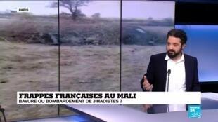 """""""Deux versions versions s'opposent"""" au sujet de frappes françaises menées au Mali au début du mois de janvier, selon notre journaliste Wassim Nasr."""