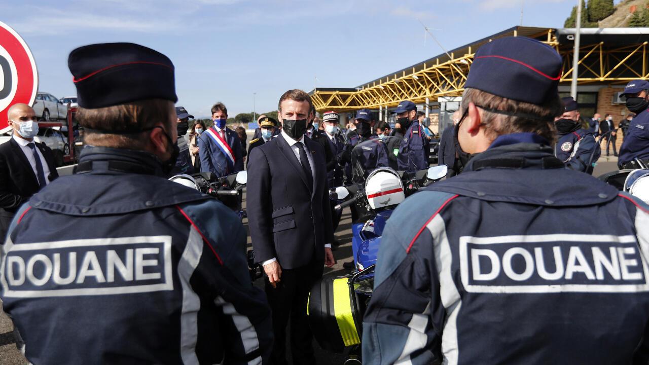 Macron fronteras seguridad terrorismo