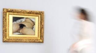 El célebre cuadro de Courbet 'El origen del mundo' fue realizado en 1866.